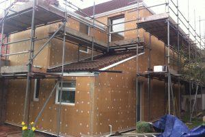 Eco-friendly external wall insulation