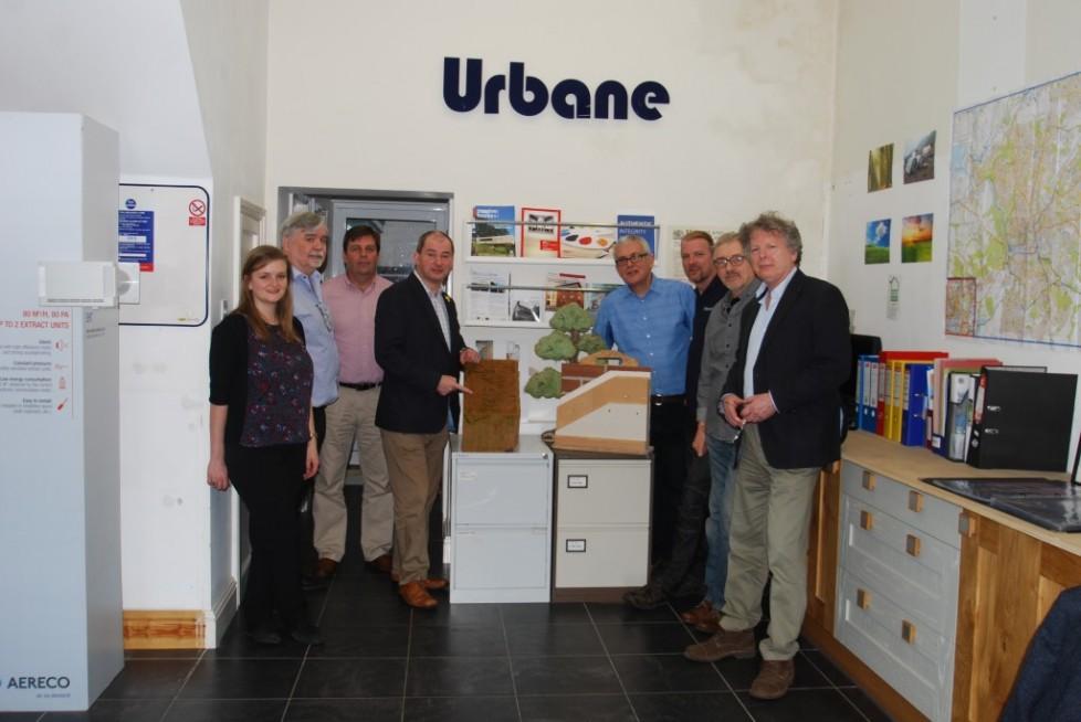 Stephen Williams MP visit to Urbane Eco