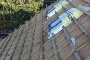 Energy efficient warm roof systems
