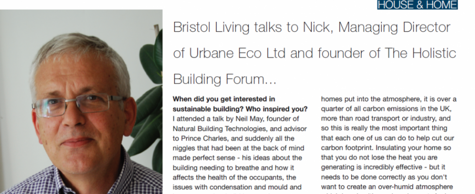 Nick's Bristol Living interview