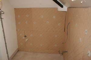 Green, sustainable internal wall insulation