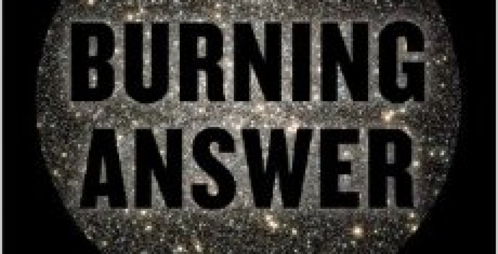 'The Burning Answer'