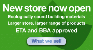 Ecologically sound building materials for sale